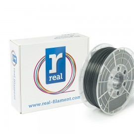 REAL PLA 3D Printer Filament - Gray - spool of 0.5Kg - 1.75mm