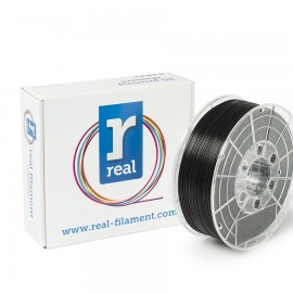 REAL PLA 3D Printer Filament - Black - spool of 0.5Kg - 1.75mm