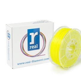 REAL PLA 3D Printer Filament - Fluorescent Yellow - spool of 0.5Kg - 1.75mm