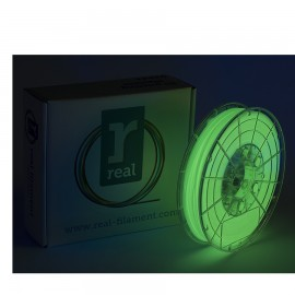 REAL PLA 3D Printer Filament - Glow in the dark - spool of 0.5Kg - 1.75mm