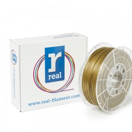 REAL PLA 3D Printer Filament - Gold - spool of 0.5Kg - 1.75mm