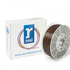 REAL PLA 3D Printer Filament - Brown - spool of 0.5Kg - 1.75mm