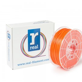 REAL PLA 3D Printer Filament - Fluorescent Orange - spool of 0.5Kg - 1.75mm