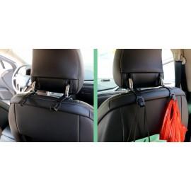 AMIO Κρεμάστρα αυτοκινήτου 02167 για το προσκέφαλο, μαύρη