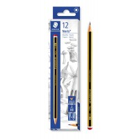 STAEDTLER ξύλινο μολύβι Noris 120-2, εξάγωνο, ΗB2, 12τμχ
