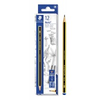 STAEDTLER ξύλινο μολύβι Noris 120-3, εξάγωνο, H3, 12τμχ