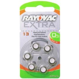Rayovac extra mercury free μπαταρίες ακουστικών βαρηκοϊας 1,45V.