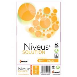 Niveus (από την MONDI) φωτοαντιγραφικό χαρτί, A3,  80gr, 500 φύλλα