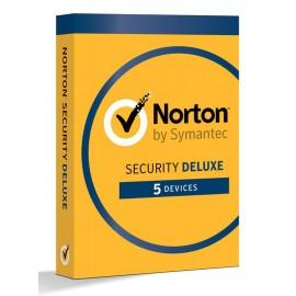NORTON Security Deluxe 2018, 5 Άδειες, 1 έτος, EU