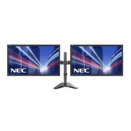 """NEC used 2x Οθόνες LCD 22"""" 1680 x 1080, FQ, με Brateck βάση LDT24-T024"""