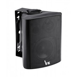 "VOICE KRAFT Ηχείο DS-501 4"", 2 δρόμων, bass reflex, 20W 8Ohm, μαύρο"