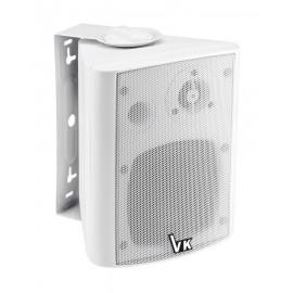 "VOICE KRAFT Ηχείο 501-DS-WH 4"", 2 δρόμων, bass reflex, 20W 8Ohm, λευκό"
