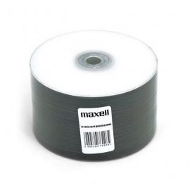 MAXELL CD-R 80min, 52x speed, 700ΜΒ, printable, 50τμχ Shrink pack