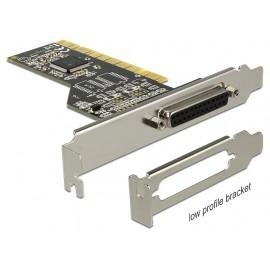 DELOCK Κάρτα Επέκτασης PCI σε Παράλληλη θύρα DB25 Female