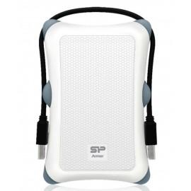 SILICON POWER εξωτερικός HDD 1TB, USB 3, αντικραδασμικό-αδιάβροχο, λευκό