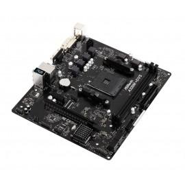 ASROCK Μητρική A320M-DVS R3.0, 2x DDR4, AMD A320, AM4, mATX