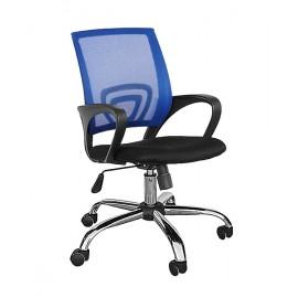 TNS Καρέκλα γραφείου AB-9050BLUE, εργονομική, ρυθμιζόμενη, μπλε