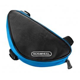 ROSWHEEL Τσάντα για σκελετό ποδηλάτου, Black/Blue