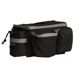 ROSWHEEL Τσάντα ποδηλάτου για rack, Multifunctional, 6L, Black