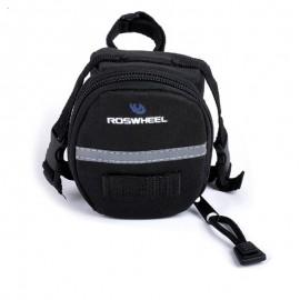 ROSWHEEL Τσάντα σέλας ποδηλάτου, Black