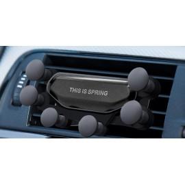 Βάση αεραγωγού αυτοκινήτου για smartphone ACC-242, μαύρη