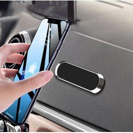 Μαγνητική βάση για smartphone ACC-249, αυτοκινήτου/γραφείου, ασημί