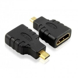 Powertech μετατροπέας θηλυκό HDMI 19pin σε αρσενικό Micro HDMI, τύπος D