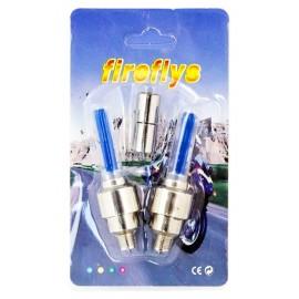 Καπάκι βαλβίδας ποδηλάτου AG304A, LED, 6.5cm, 2τμχ, μπλέ