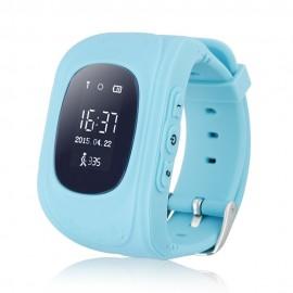 GPS Παιδικό ρολόι χειρός Q50, SOS-Βηματομετρητής, Blue