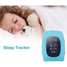 GPS Παιδικό ρολόι χειρός Q50, SOS-Βηματομετρητής, Green
