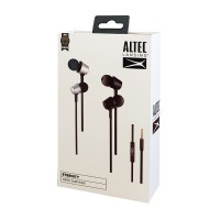 ALTEC LANSING earphones Eternity, mic, Button , 100dB, μαύρα