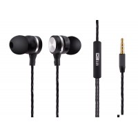 ALTEC LANSING earphones Inspire, mic, Button, 110dB, μαύρα