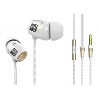 ALTEC LANSING Earphones French Touch, 3.5mm, 92db, 1.2m, ceramic, λευκά