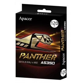 "APACER SSD AS350, 120GB, 2.5"" SATA III, 450-350MB/s, 7mm, TLC"