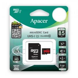 APACER Κάρτα Μνήμης Micro SDHC UHS-I U1 R85, 128GB, Class10
