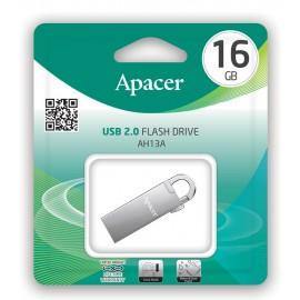APACER USB Flash Drive AH13A, USB 2.0, 16GB, Silver