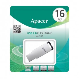APACER USB Flash Drive AH310, USB 2.0, 16GB, Silver