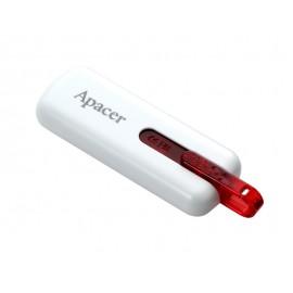 APACER USB Flash Drive AH326, USB 2.0, 16GB, White
