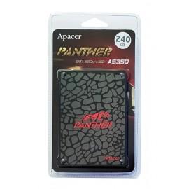 "APACER SSD AS350, 240GB, 2.5"" SATA III, 450-350MB/s, 7mm, TLC"