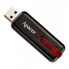 APACER USB Flash Drive AH326, USB 2.0, 32GB, Black