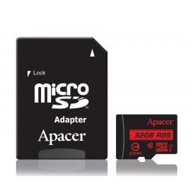APACER Κάρτα Μνήμης Micro SDHC UHS-I U1 R85, 32GB, Class10