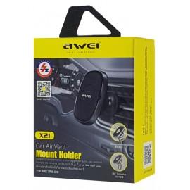 AWEI βάση smartphone για αυτοκίνητο X21, μαγνητική, μαύρη