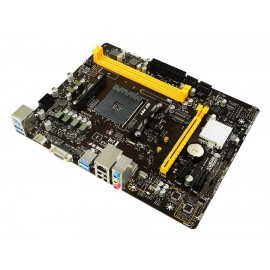 BIOSTAR Μητρική B450MH, 2x DDR4, AM4, USB 3.1, HDMI, mATX, Ver. 6.0