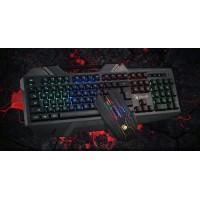 BLOODY set ποντίκι & πληκτρολόγιο BLD-B2500, ενσύρματα, 4000Cpi, μαύρο