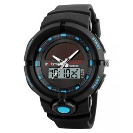 Bundle BNDL-0021 INTIME Smartwatch SW-V02 & Ρολόι χειρός Solar-01