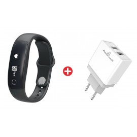 Bundle BNDL-0023 SENSSUN smartwatch IW5941B & POWERTECH φορτιστής PT-760