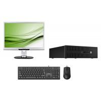 Bundle BNDL-0048 HP PC με οθόνη, ποντίκι, πληκτρολόγιο & Windows 10