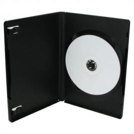DVD Θήκη για 1 Disc 14 χιλιοστά, Μαύρο - 100ΤΕΜ