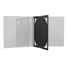 10.4 mm CD jewelcase με CLEAR 2 disc - 100TEM