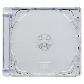 Θήκη CD Jewelcase BOX24, διάφανη, 100τμχ